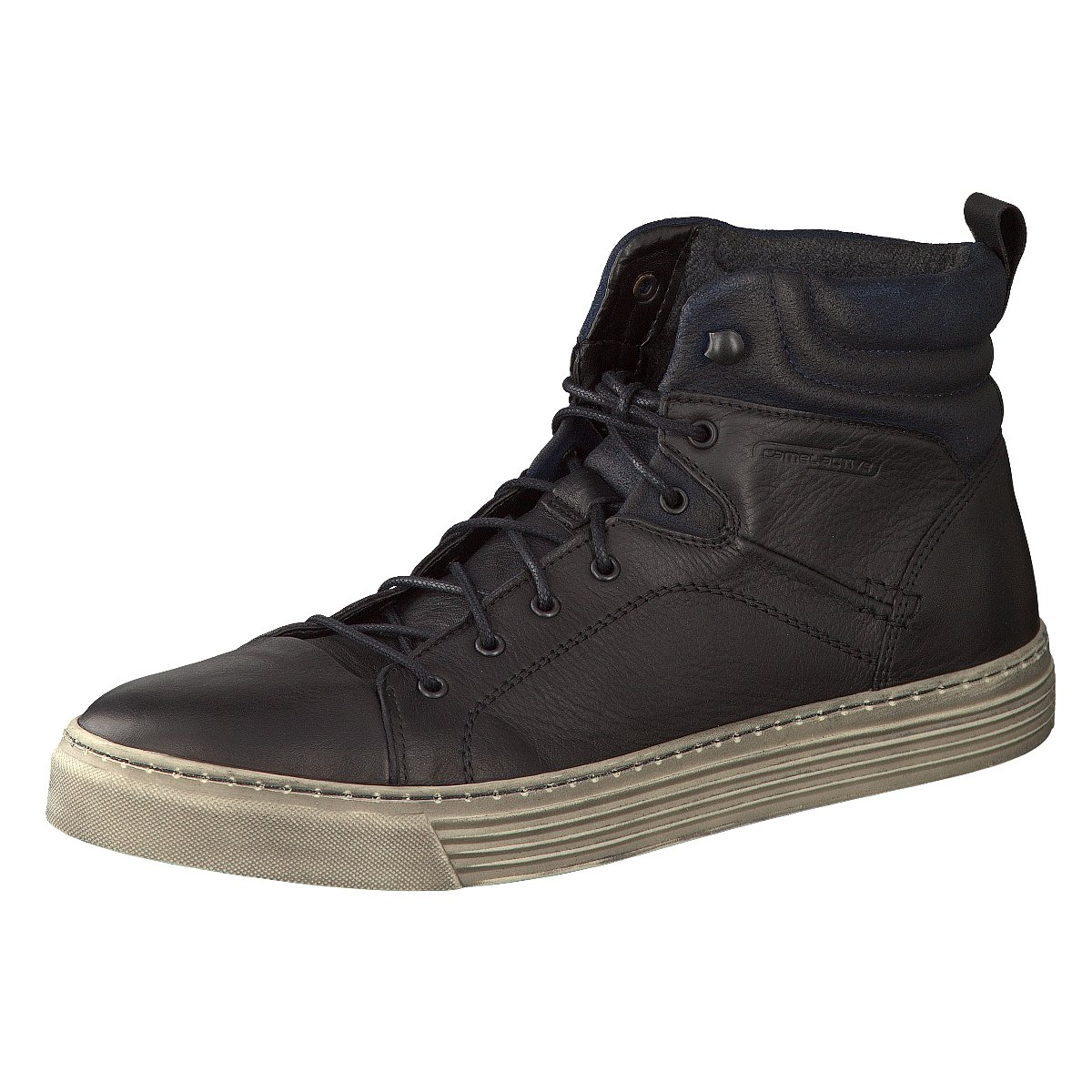 NEU camel active Herren Sneaker Bowl 429.12.02 schwarz 146127
