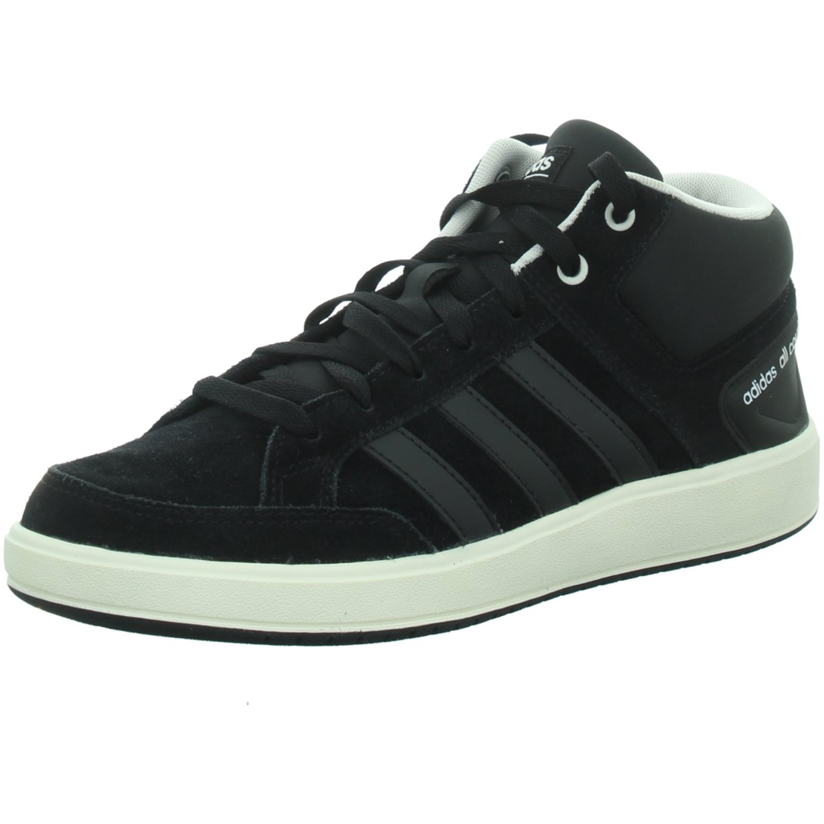 NEU adidas Herren Sneaker CF ALL COURT MID BB9955 schwarz 469088