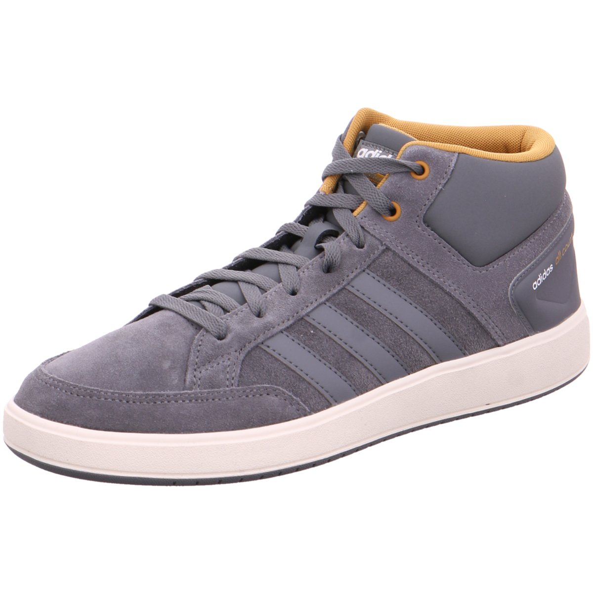 NEU adidas Herren Sneaker CF ALL COURT MID BB9956 grau 354387   eBay bba3faae44