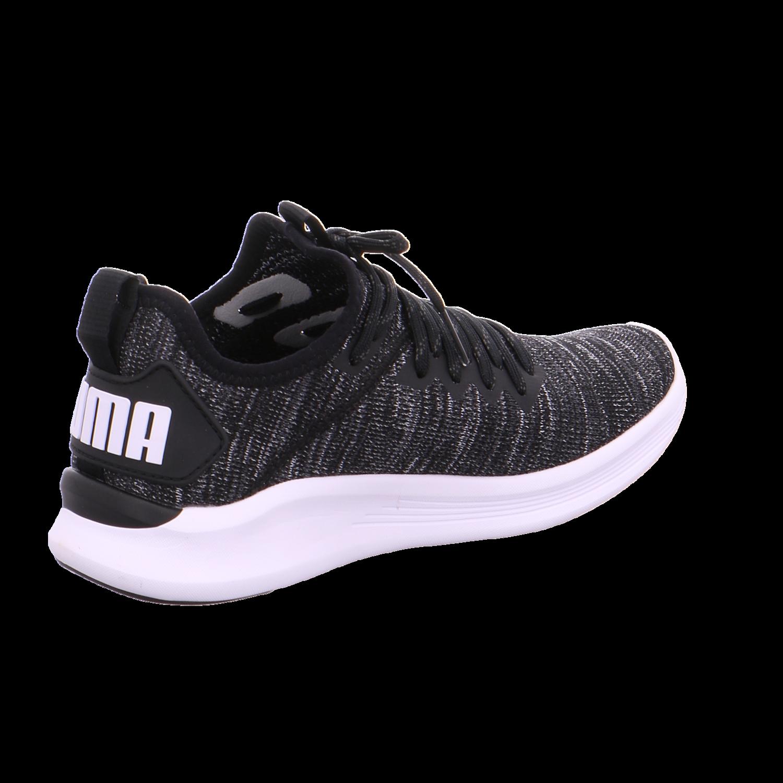Puma Flash 411760 001 Damen Ignite Sneaker Schwarz Evoknit 190511 qzqOr