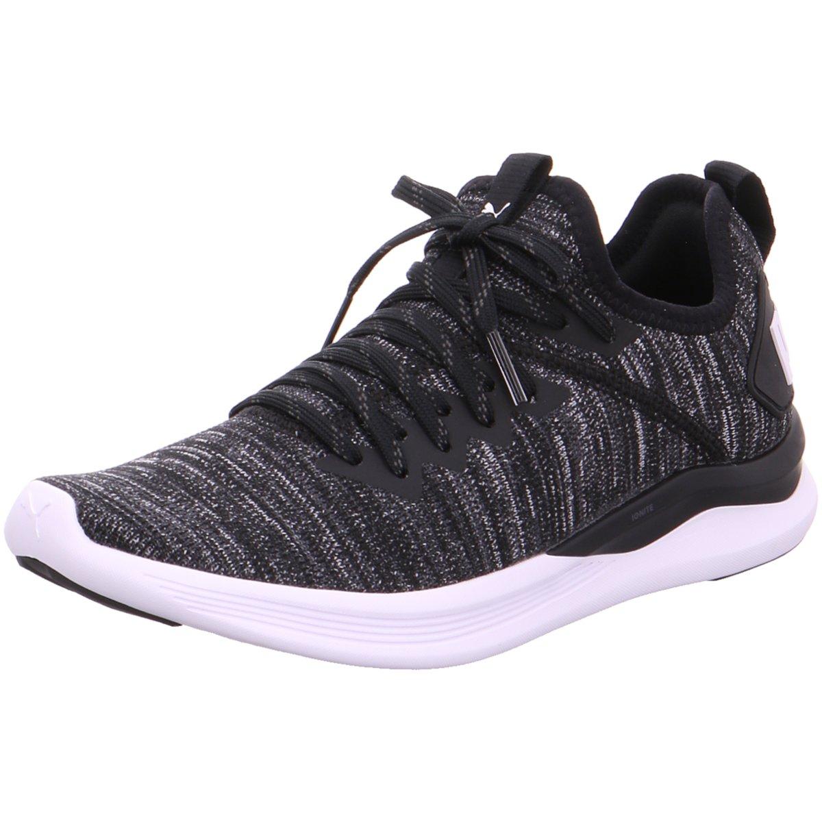NEU Puma Damen Sneaker Ignite Flash evoKnit 190511/001 schwarz 411760