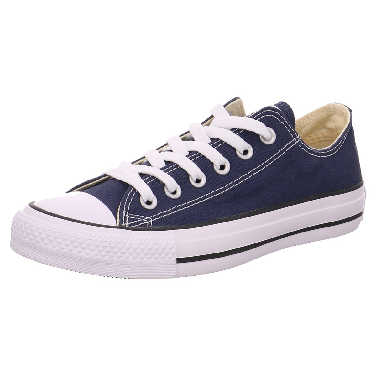ba9f2e7835416 S2K Converse Damen Turnschuhe Leinen Leinen Leinen Schnürhalbschuh All Star  OX M9697C blau