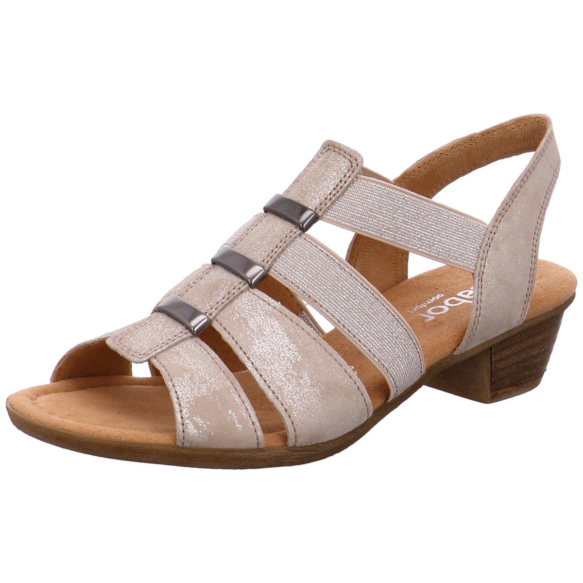 Gabor comfort Damen Sandaletten 42472-33 grau 111836  | Up-to-date Styling  | Qualität und Quantität garantiert