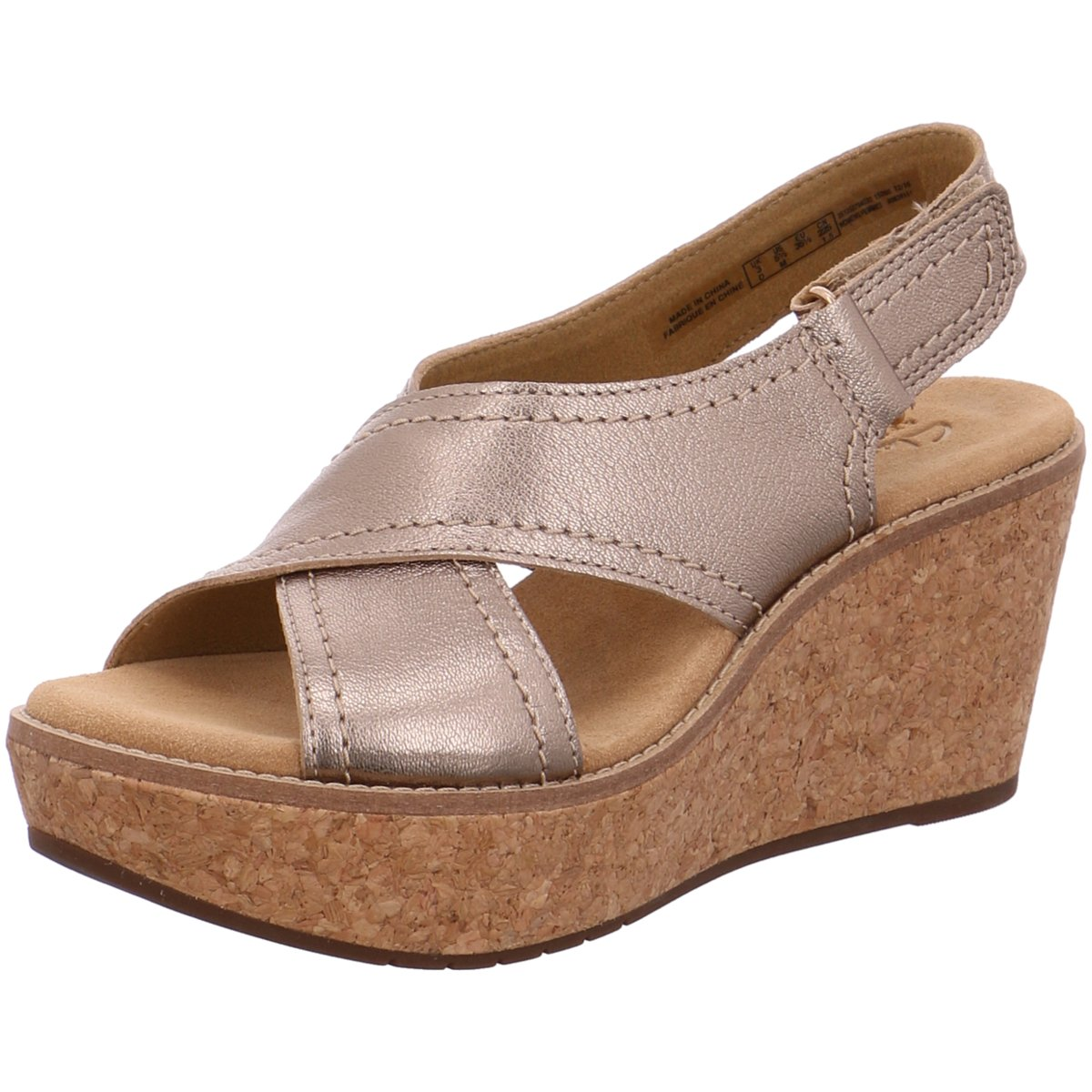 uk availability 63855 3ce87 Details zu Clarks Damen Sandaletten AISLEY TULIP 261250794 braun 262630