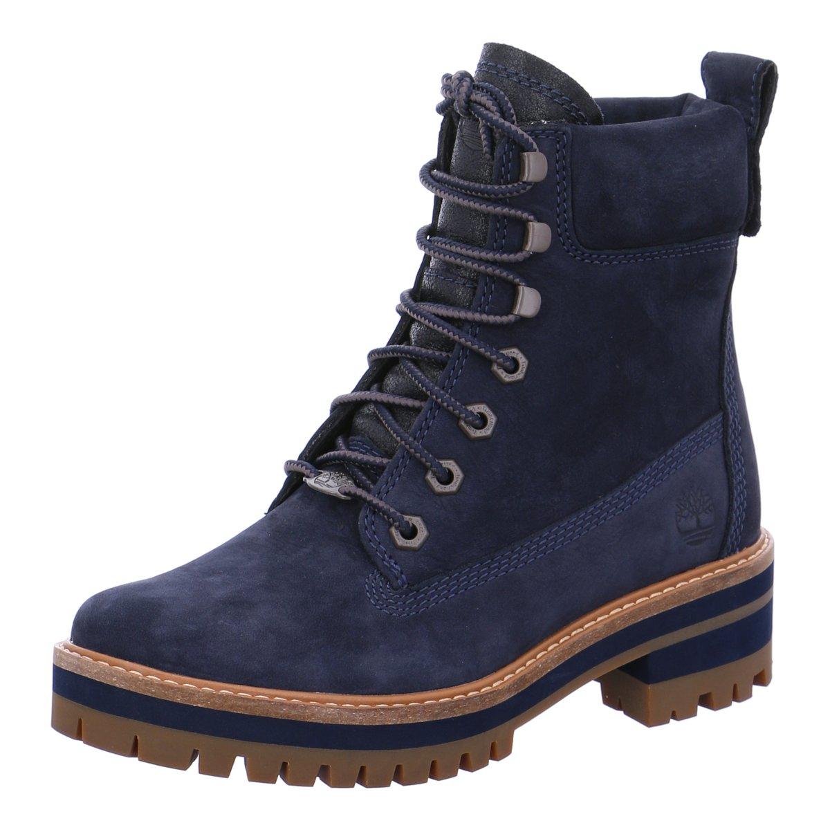 timberland boots damen dunkelblau