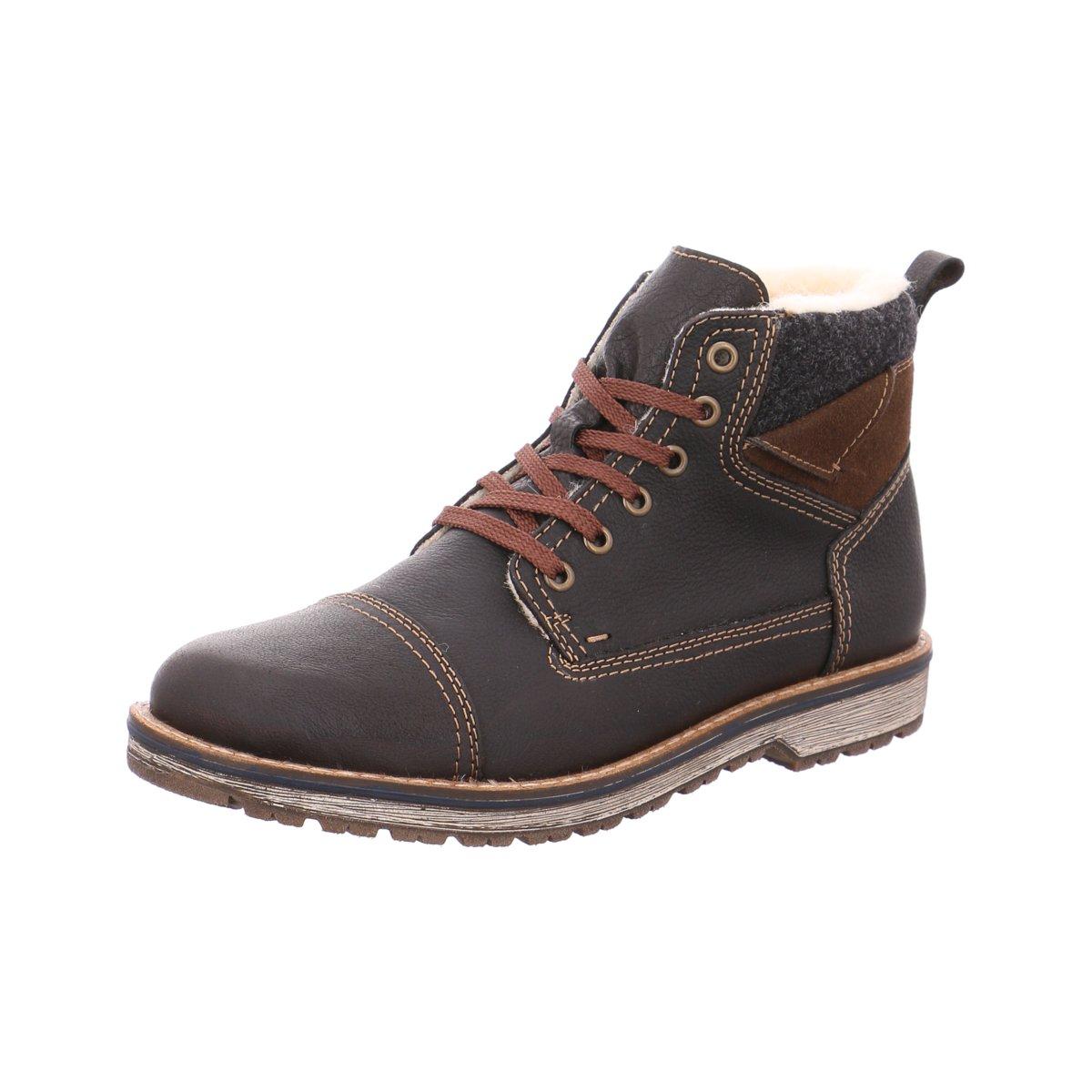 569c4298afd6a3 Das Bild wird geladen Rieker-Herren-Stiefel-TEX-Boots-kastanie-39230-25-