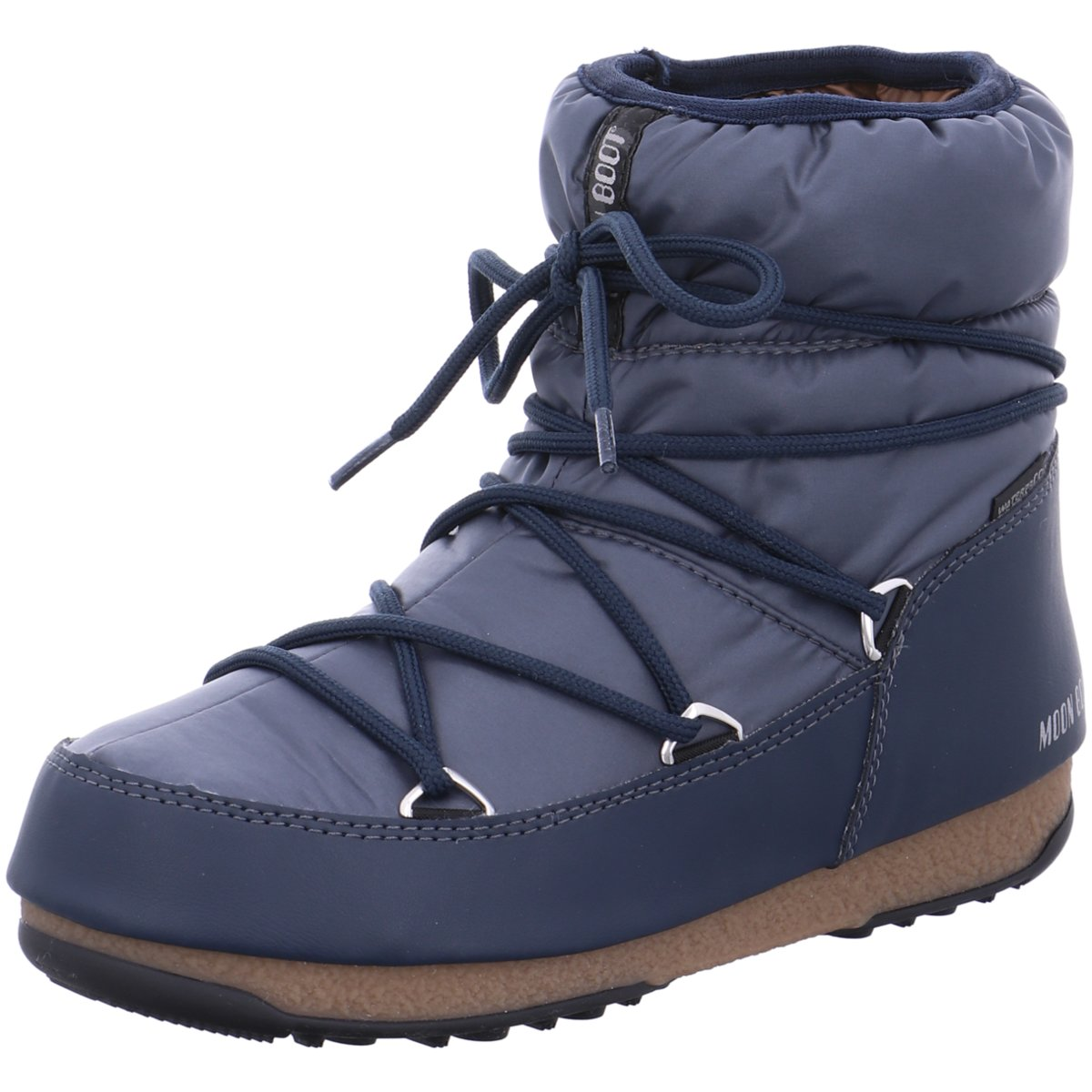 Moon Stiefel Damen Stiefeletten Low Nylon 24006200-006 blau 540218