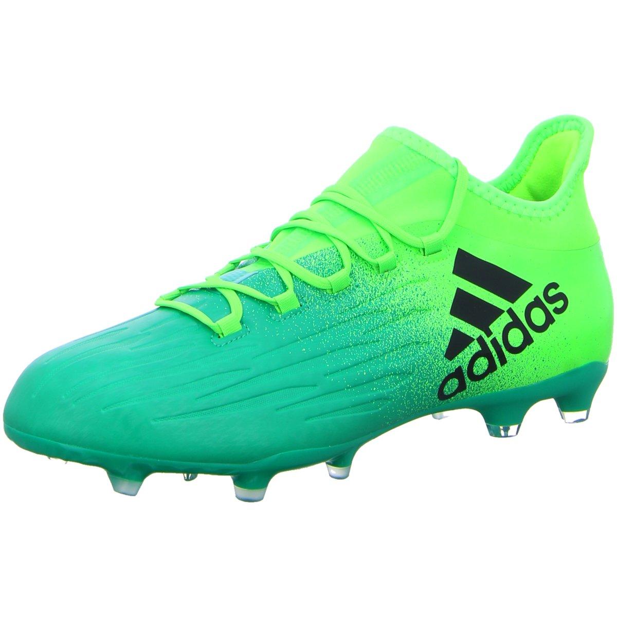 Details zu #S2K adidas Herren Sportschuhe X 16.2 FG Herren Fußballschuhe Nocken grün