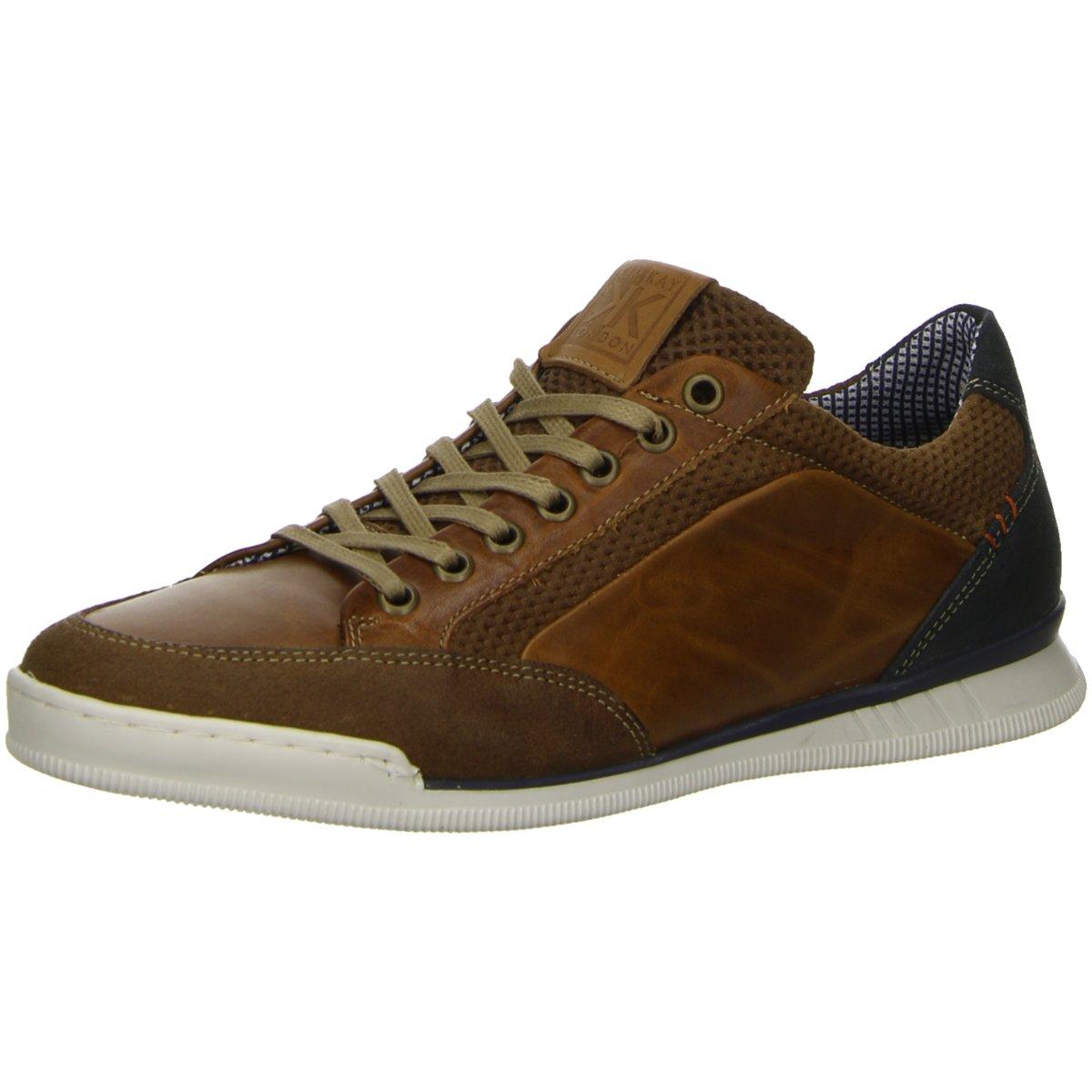 NEU Kim Kay Herren Sneaker j4457-ks528 braun 472420
