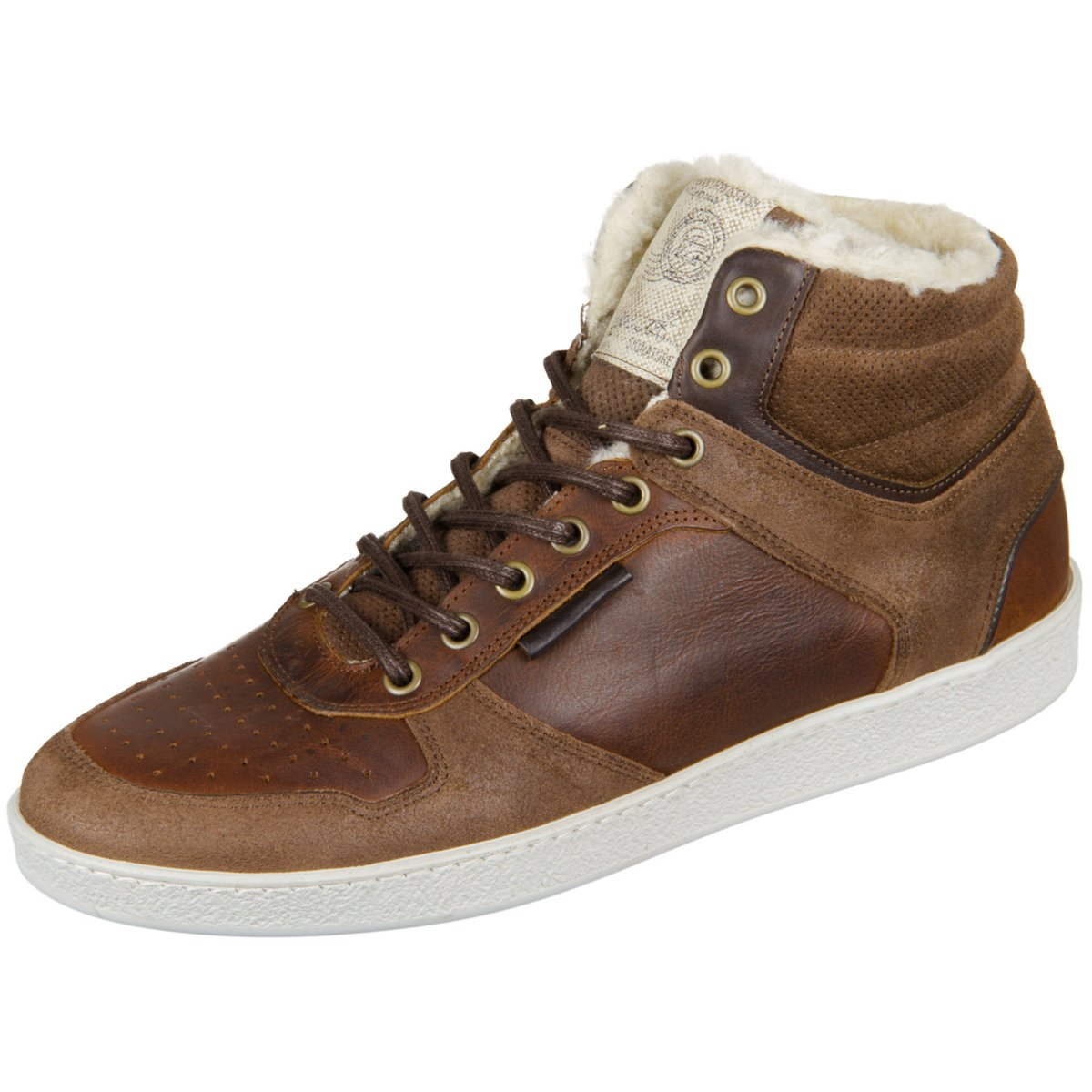 NEU Bullboxer Herren Sneaker 735K55143DMBRN braun 368278