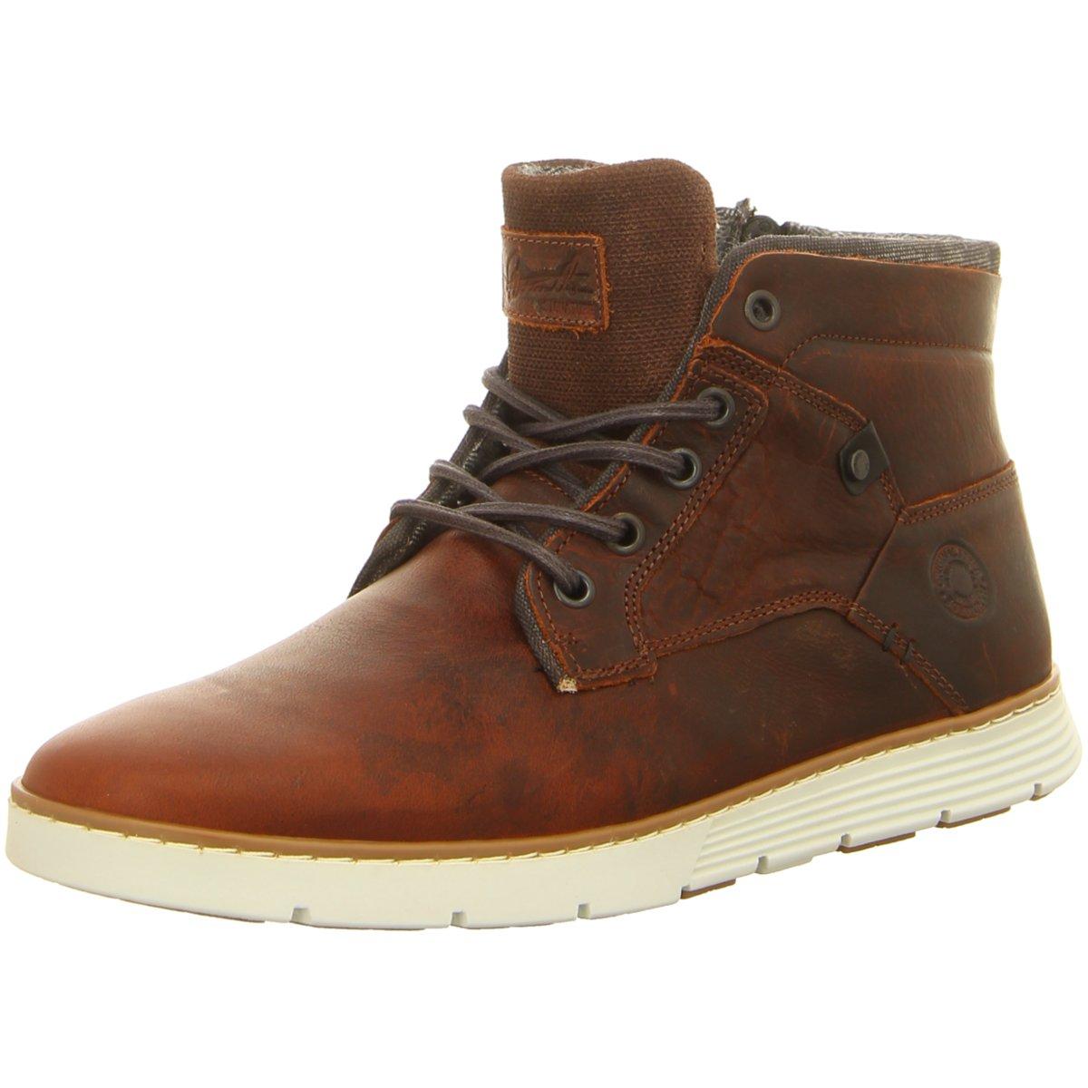 NEU Bullboxer Herren Sneaker 628K56088ARBBK braun 366786