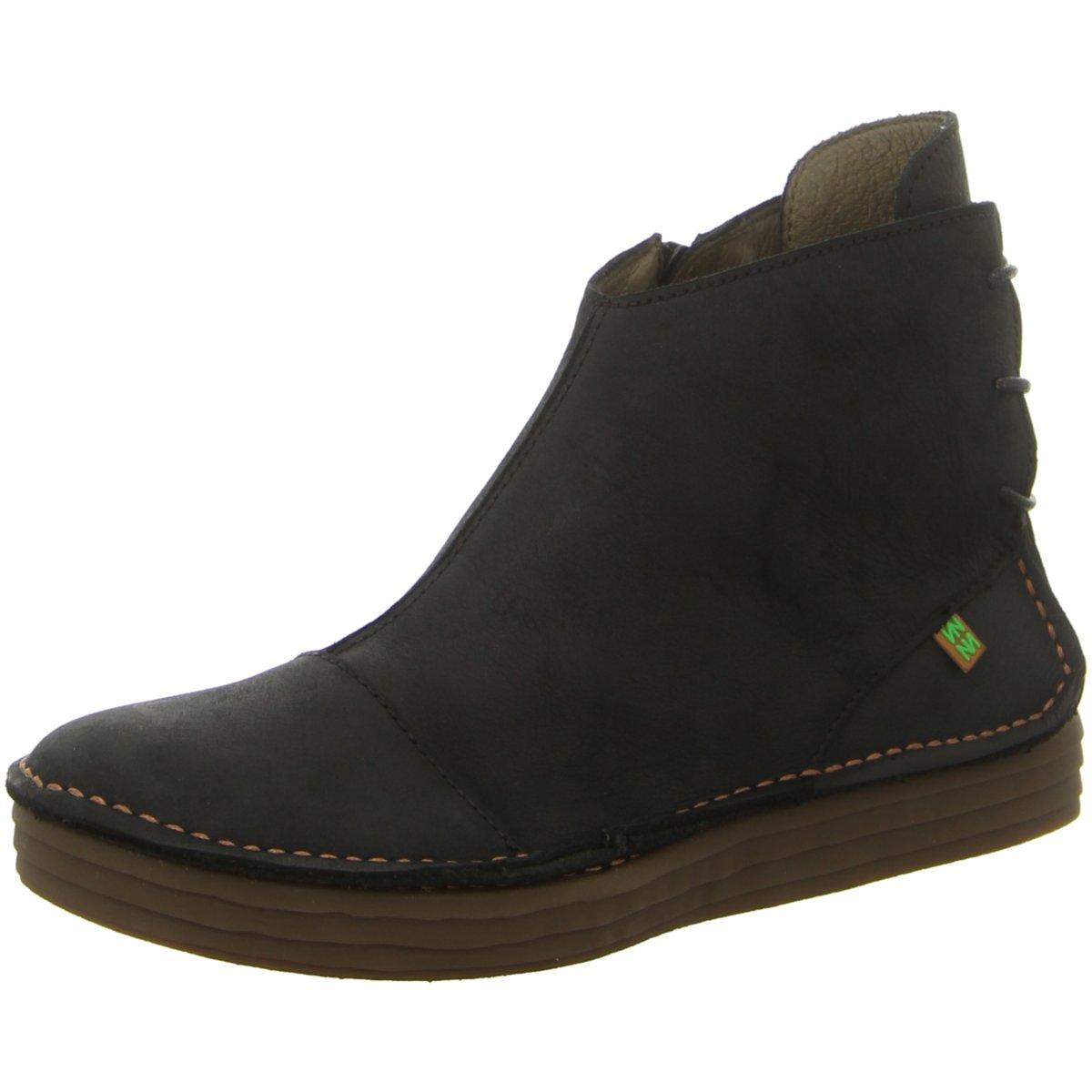 NEU El Naturalista Damen Stiefeletten NF82 BLACK schwarz 318756