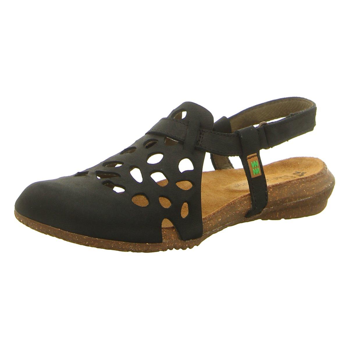 NEU El Naturalista Damen Sandaletten Wakataua N5063 bl black Pleasant N5063 bl