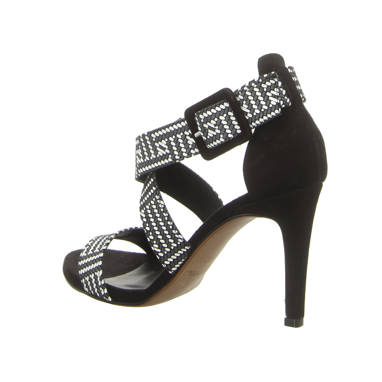 be42c111ca089a NEU Tamaris Damen Sandaletten schwarz-weiß 11-28360-28-098 schwarz ...