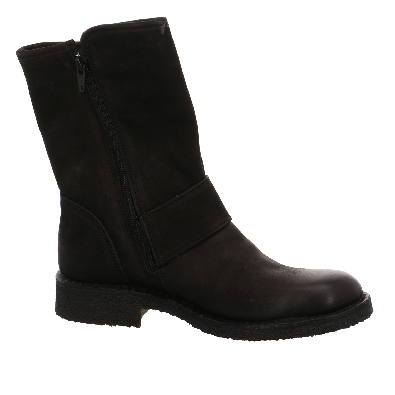 NEU Ca Shott Damen Stiefeletten 14066-2001 black Leather 14066-2001 schwarz