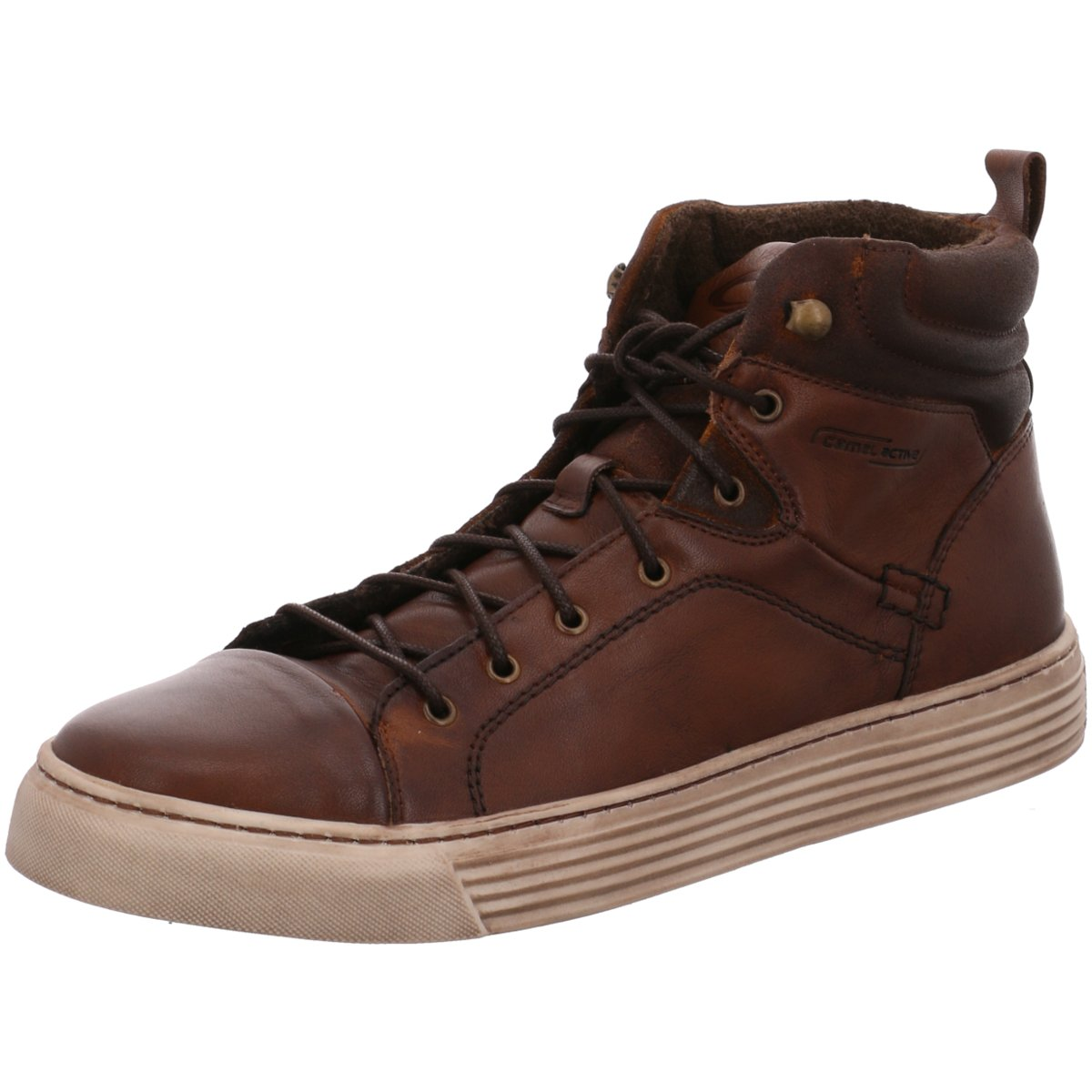 Details zu camel active Herren Sneaker Bowl 4293201 braun 322311
