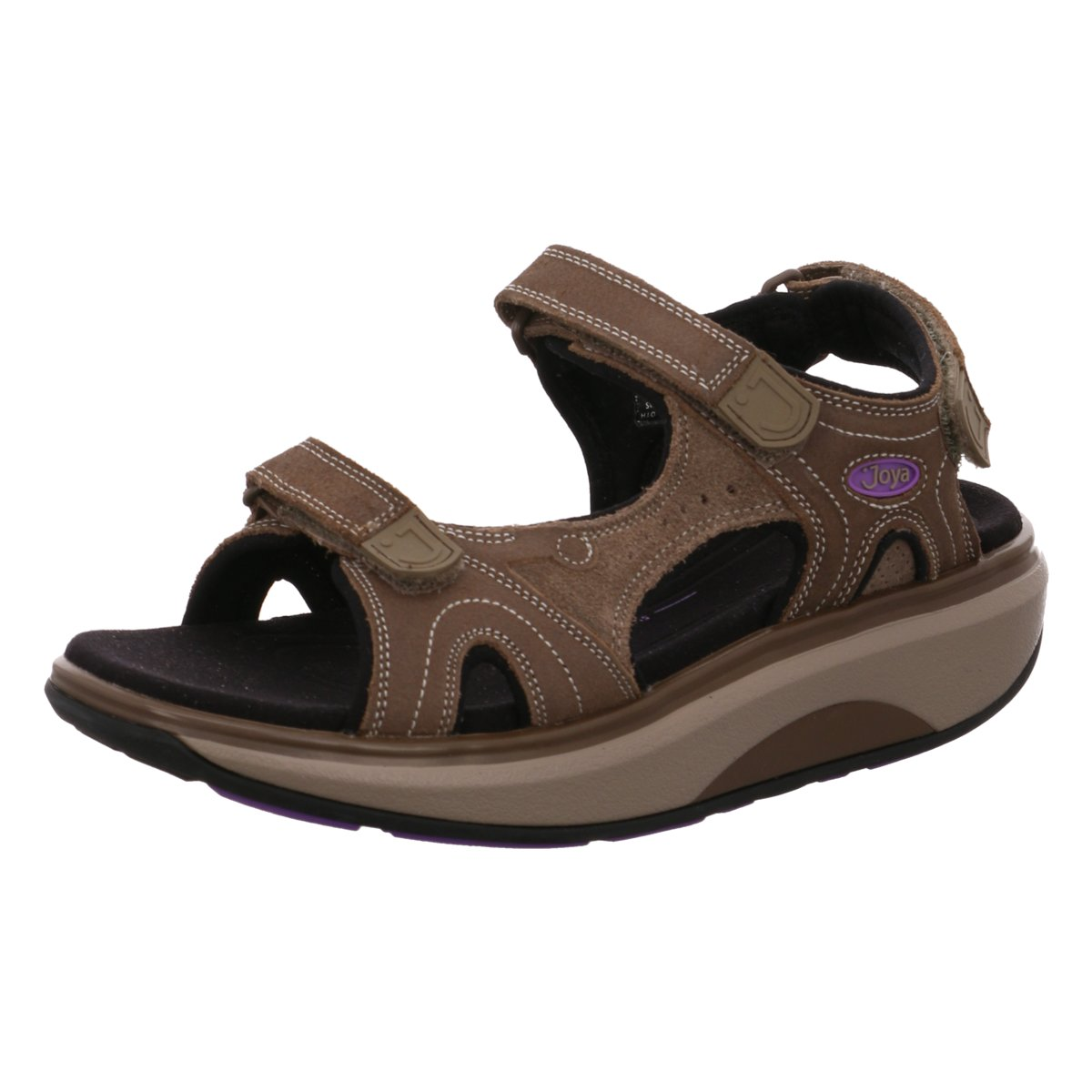 Joya Damen Sandaletten Cairo2,Soft-Roll,bra 717san braun 458262