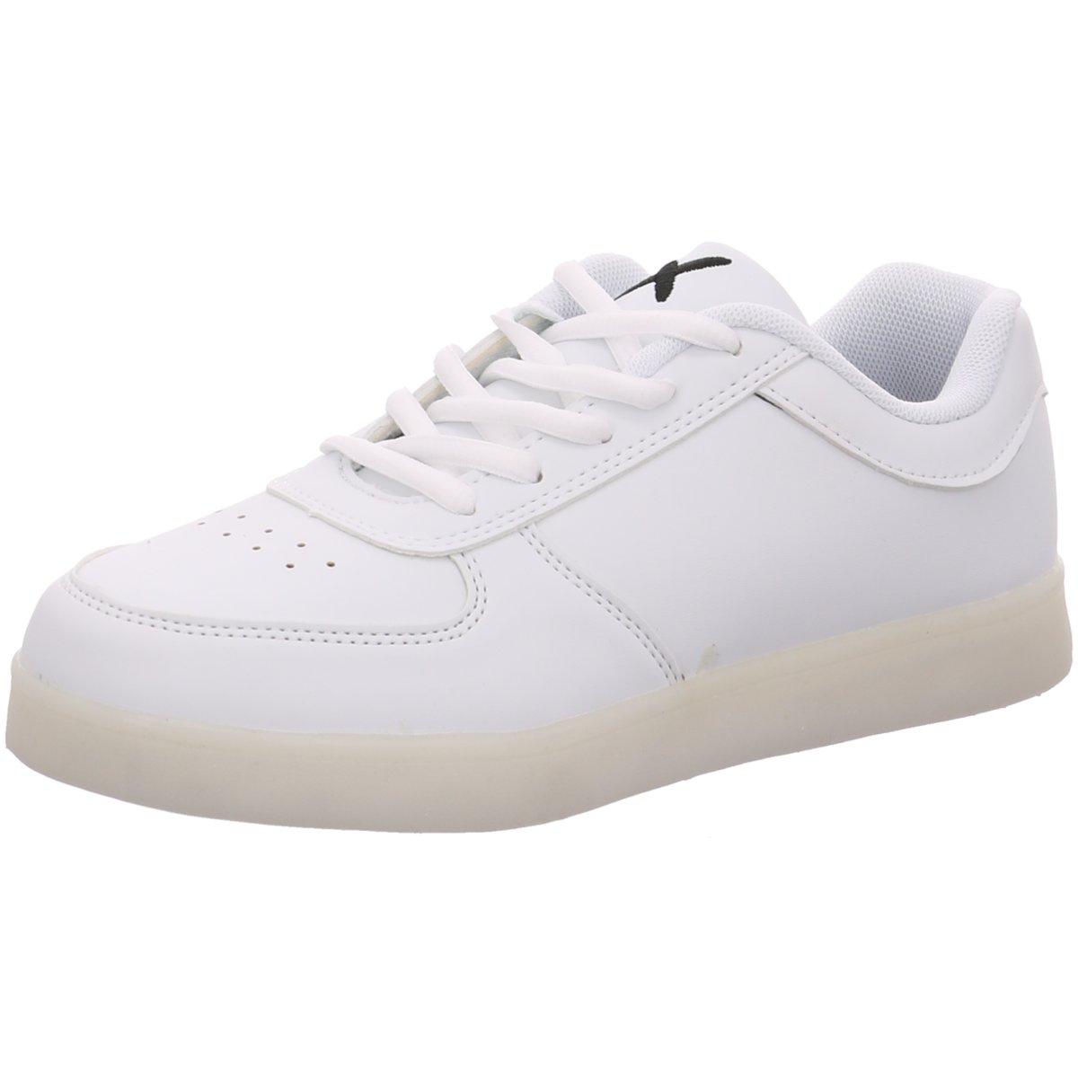 NEU Wize & Ope Damen Sneaker white LED-01 weiß 185967