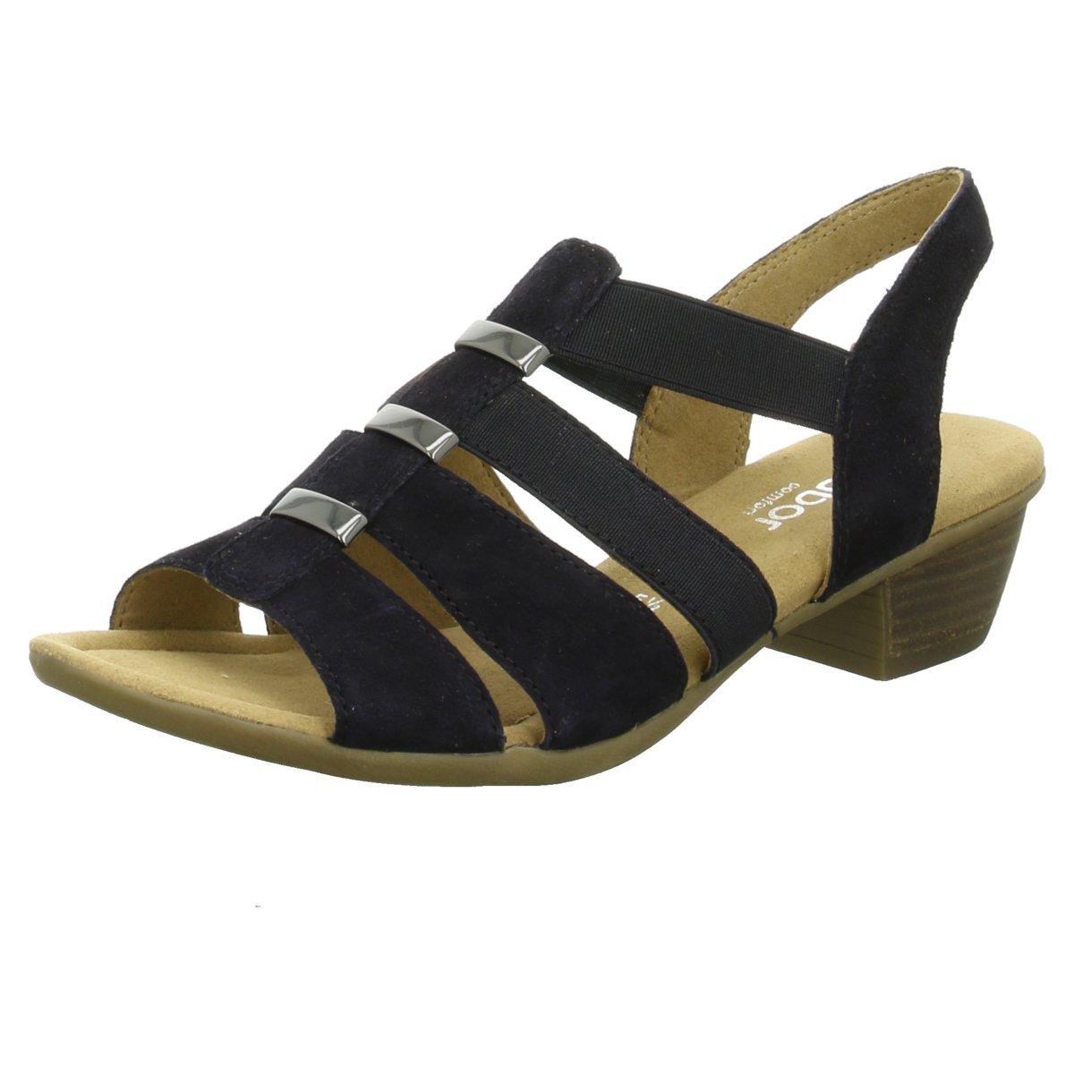 Details zu Gabor comfort Damen Sandaletten blau 45180