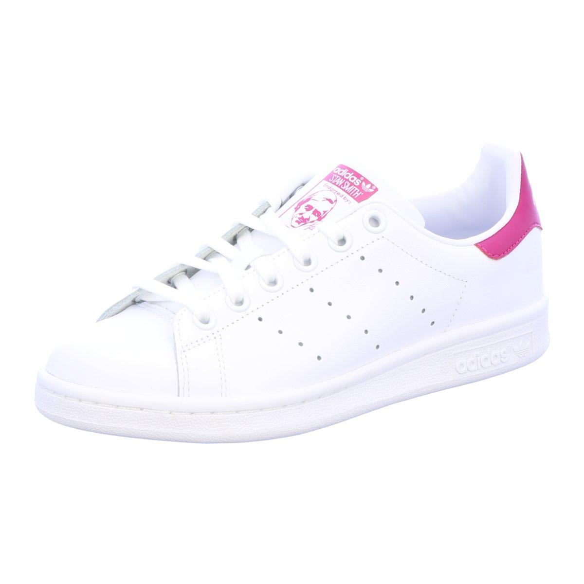 #S2K adidas Damen Sneaker Stan Smith Kinder Sneaker weiß pink B32703 weiß |  eBay