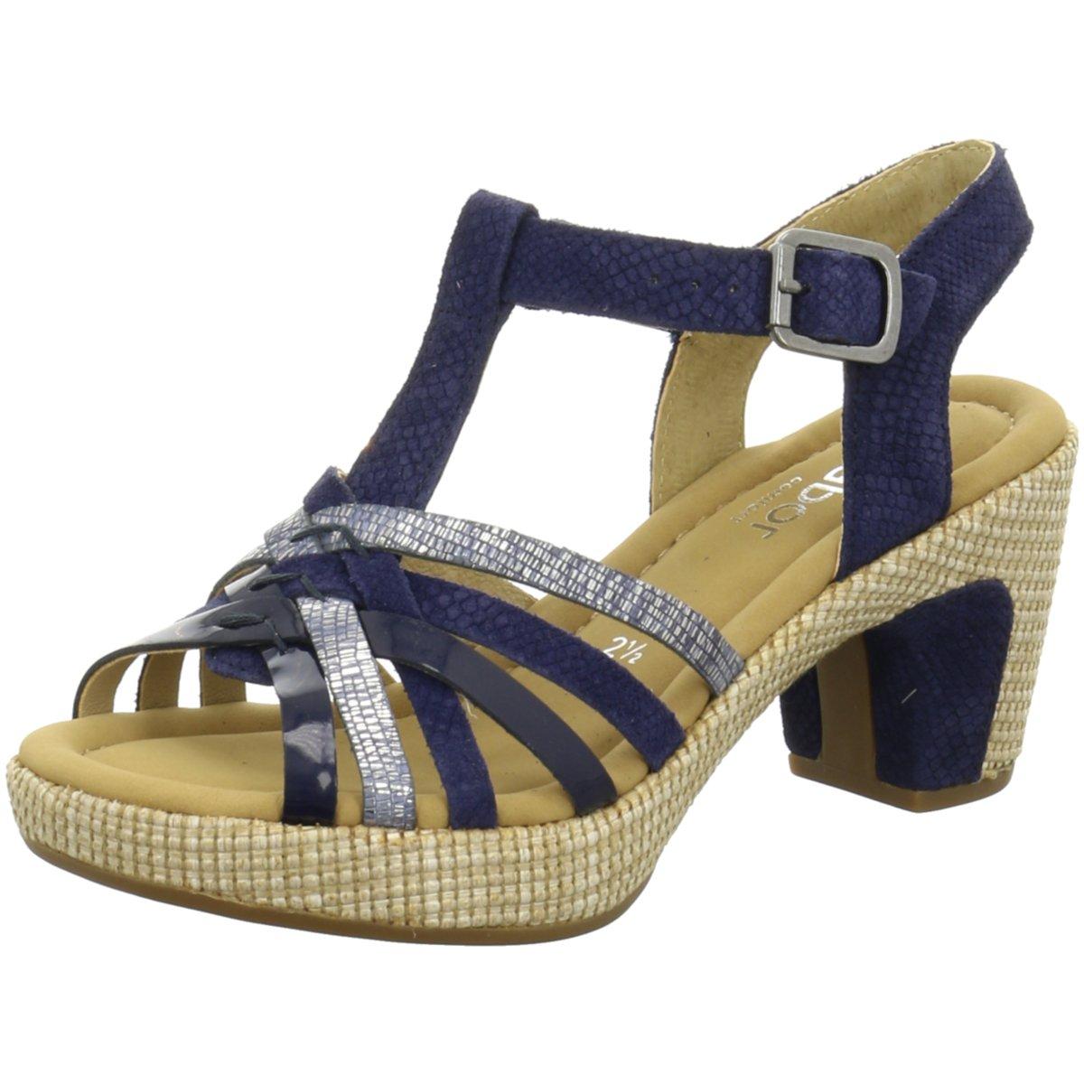 Comfort Sandalette 8273646 65 blau blau Gabor Billig Verkauf