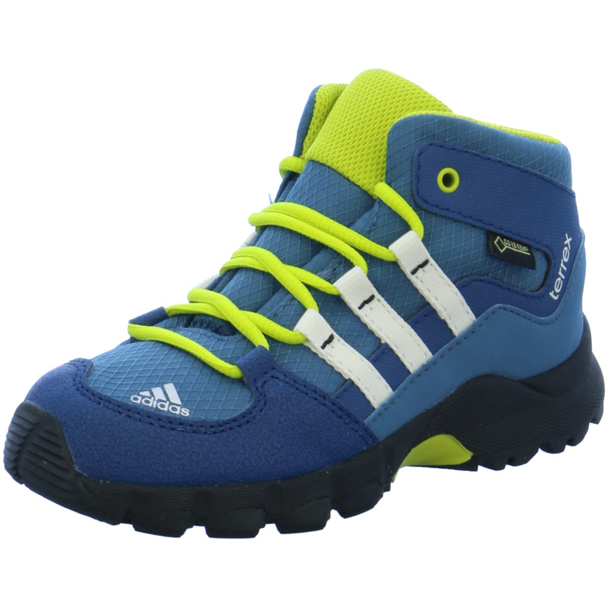 cheap for discount 31733 25cc9 Details zu adidas Kinder Sportschuhe BB1404 Terrex mid blau 149360