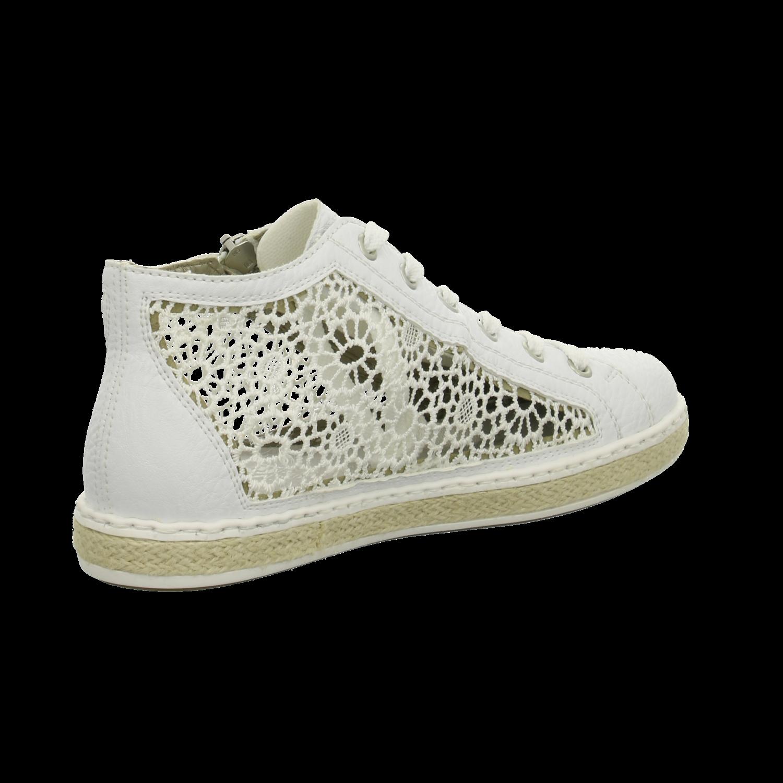 NEU Rieker Rieker Rieker Damen Schnuerschuhe Damen Sneakers high M8505-80 weiß 278761 5528b2