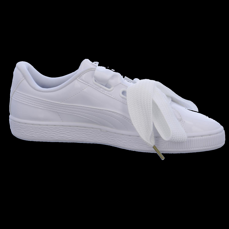 S2K S2K S2K Puma Damen Turnschuhe Basket Heart Patent Turnschuhe Damen Schuhe weiß    e0981d