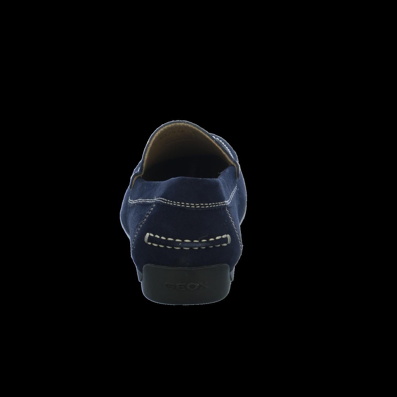 NEU - Geox Herren Slipper U SIMON A - NEU SUEDE U32Q3A-00022/C4000 blau 219584 cef30b