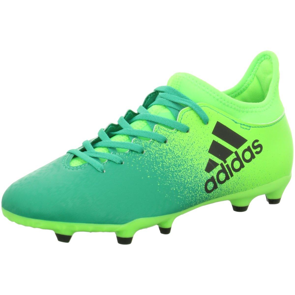 Details zu #S2K adidas Kinder Fussballschuhe X 16.3 FG Kinder Fußballschuhe Nocken grün