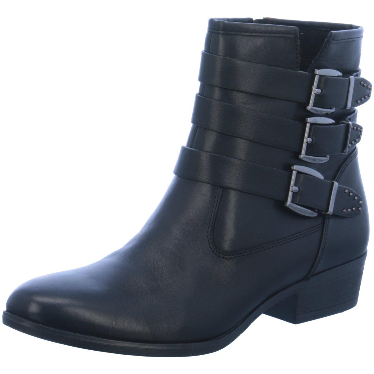 Tamaris Damen Stiefeletten 1-1-25952-39 001 schwarz 357146
