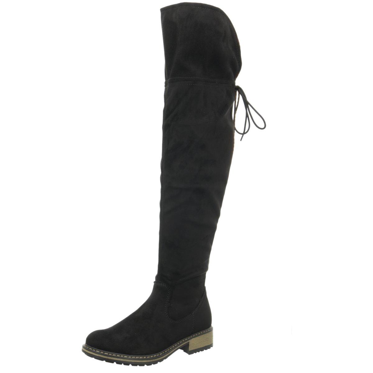 Rieker Schuhe Stiefel Z6883 00 schwarz schwarz NEU