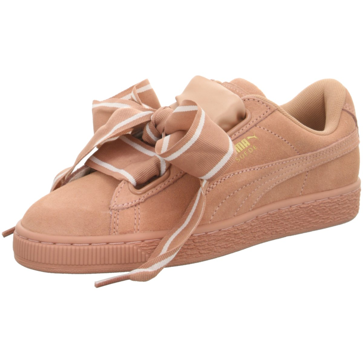 Details zu #S2K Puma Damen Sneaker Suede Heart Satin II Sneaker Damen Schuhe Cameo Brown