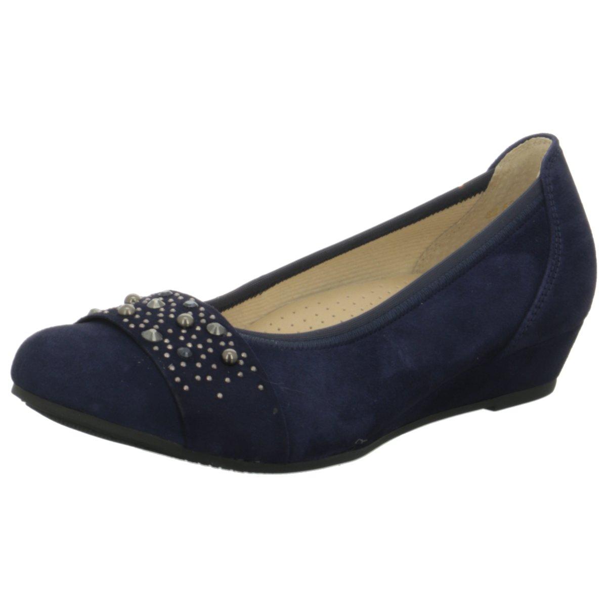 Gabor Damen Ballerinas 82.692.36 blau 406504