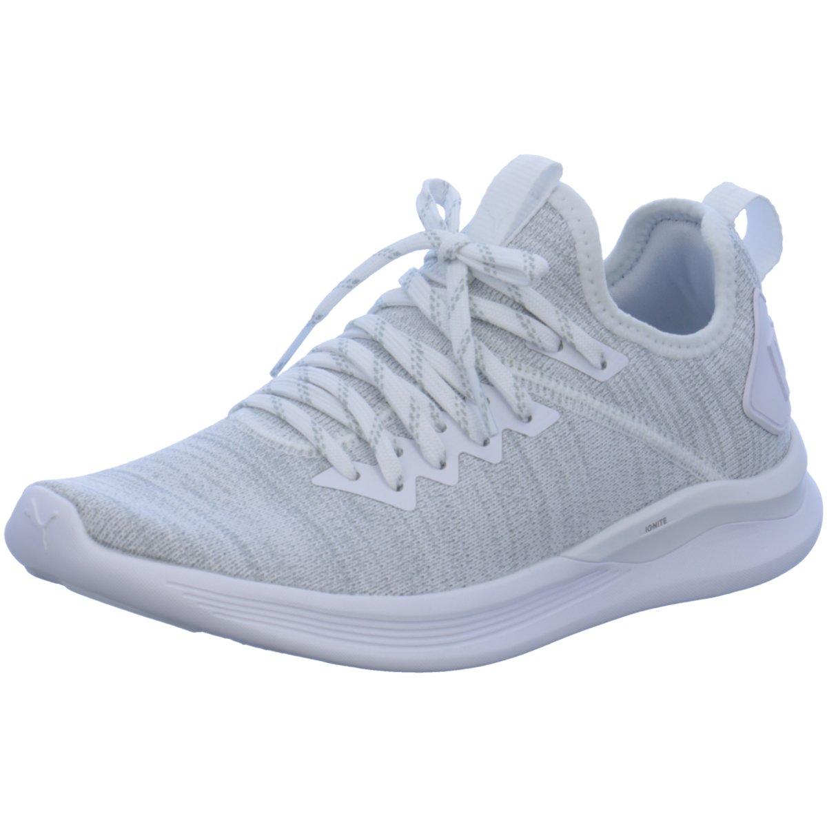NEU Puma Damen Sneaker evoKnit Ignite Flash evoKnit Sneaker 190511/002 grau 420197 05faba