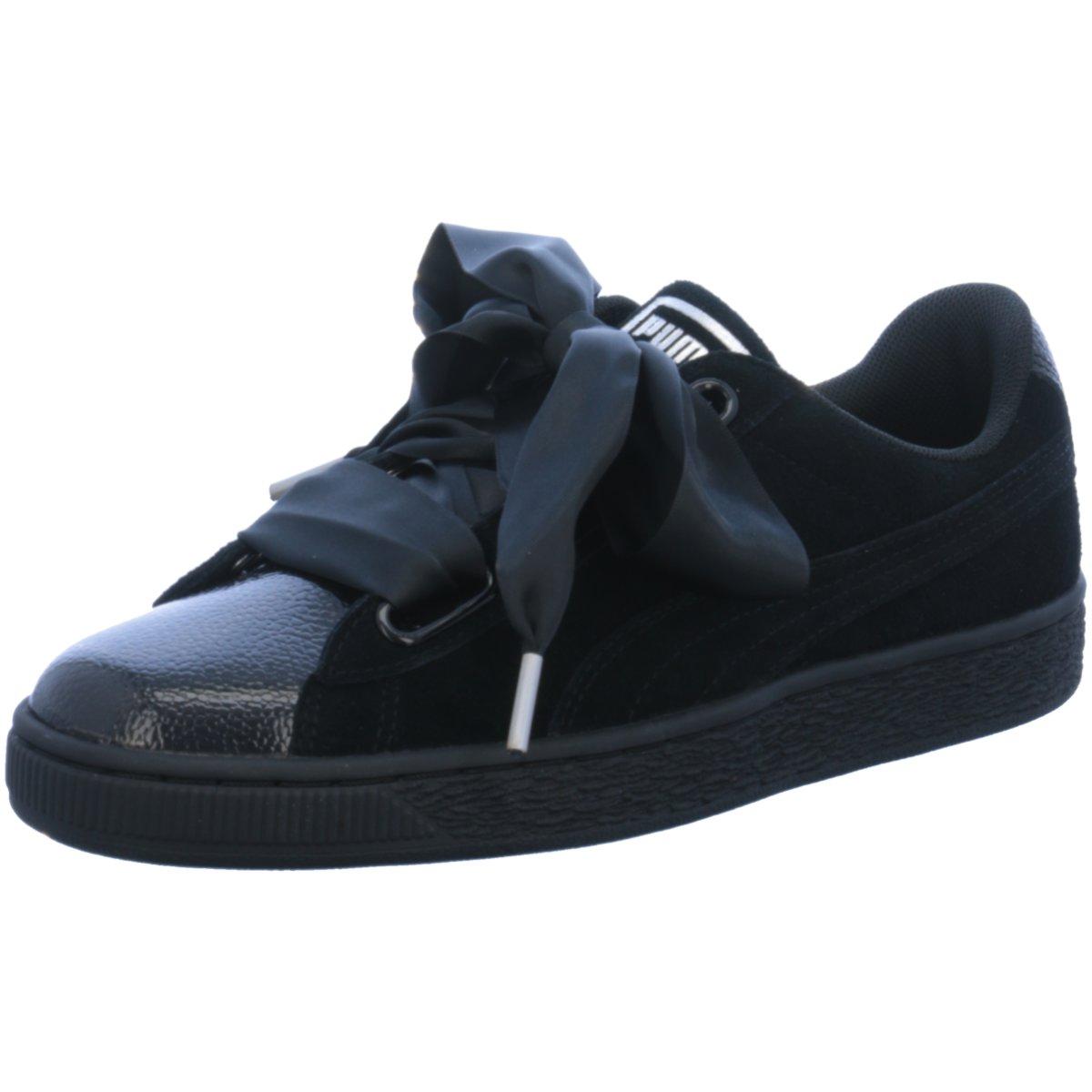 NEU Puma Damen Sneaker Suede Heart black 366441/001 schwarz 413829