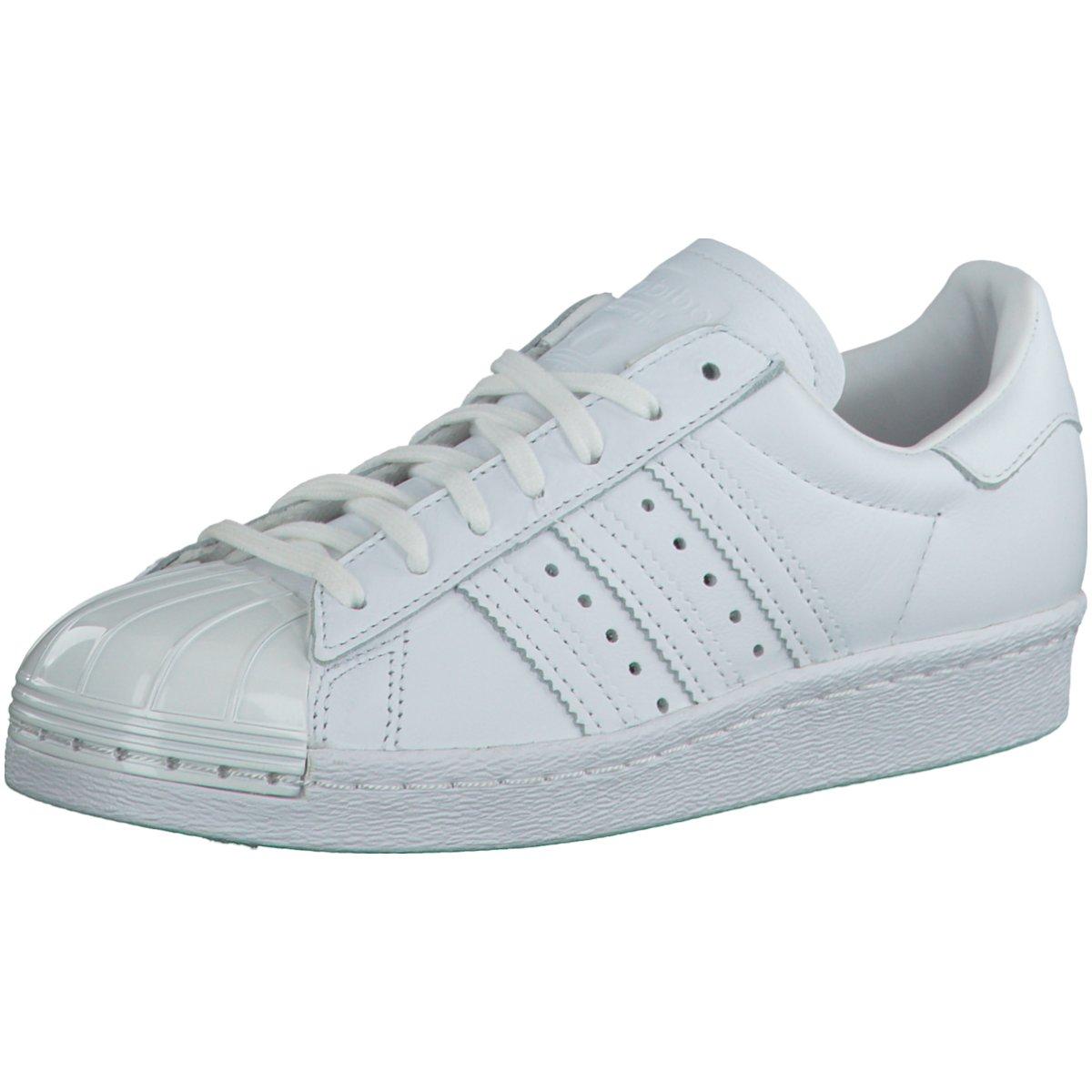 NEU adidas Damen Sneaker Superstar 80S Metal Toe Damen Sneaker weiß S76540