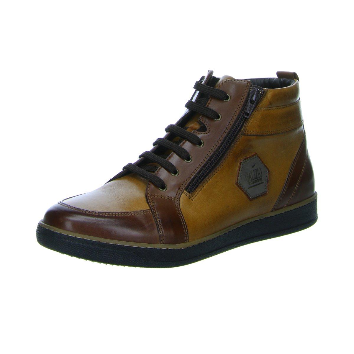 NEU GALIZIO TORRESI Herren Sneaker 3233 323366 V16440 braun 308235