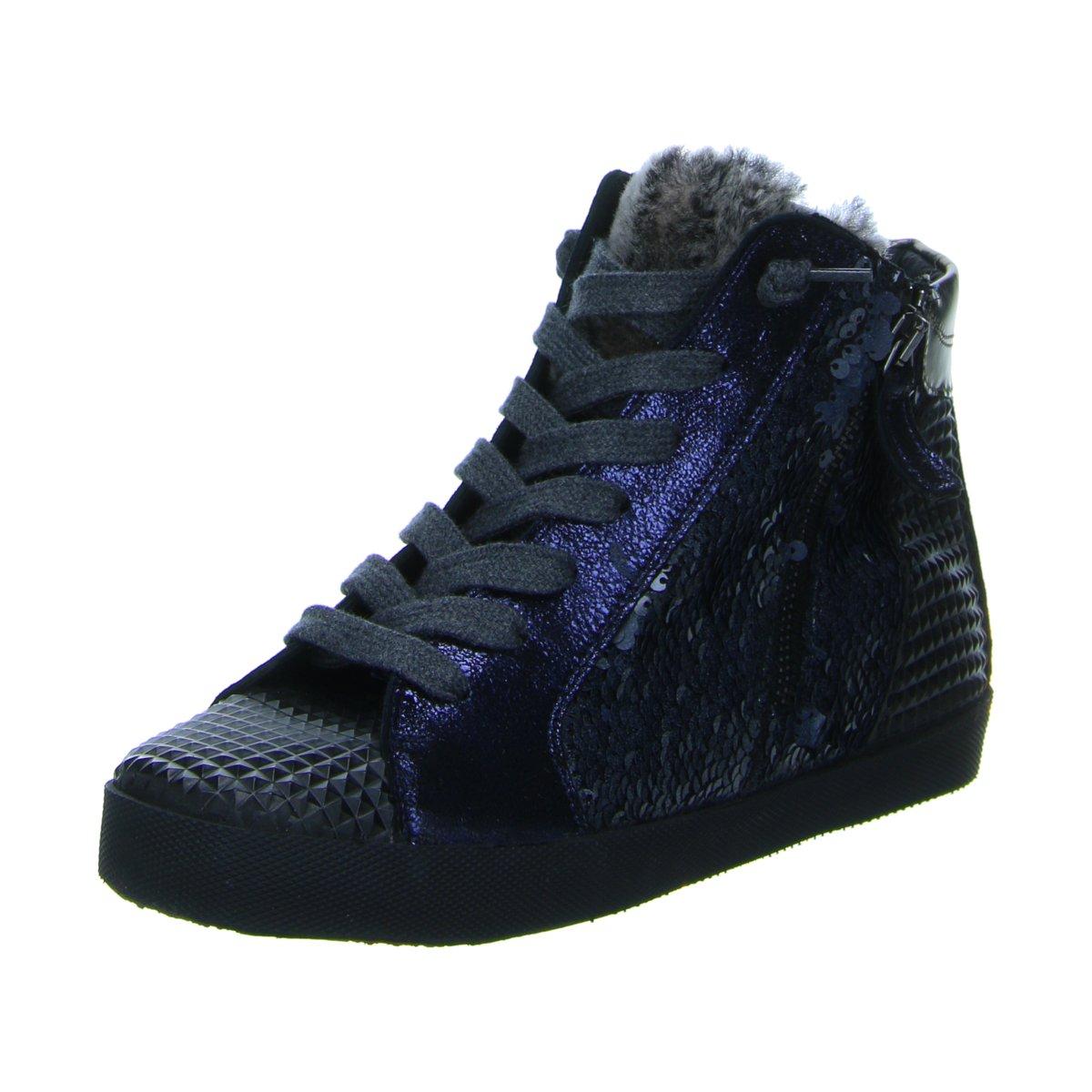 NEU Donna Carolina Damen Sneaker Mix Stone 32402052 005 blau 199737