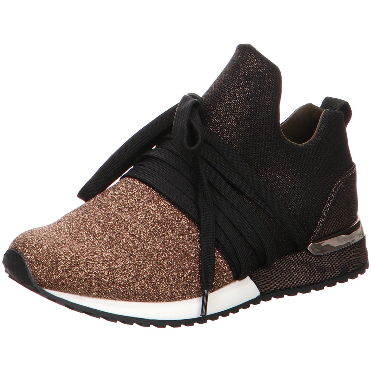 Details zu La Strada Damen Sneaker 546 1804189 4045 gold 588859