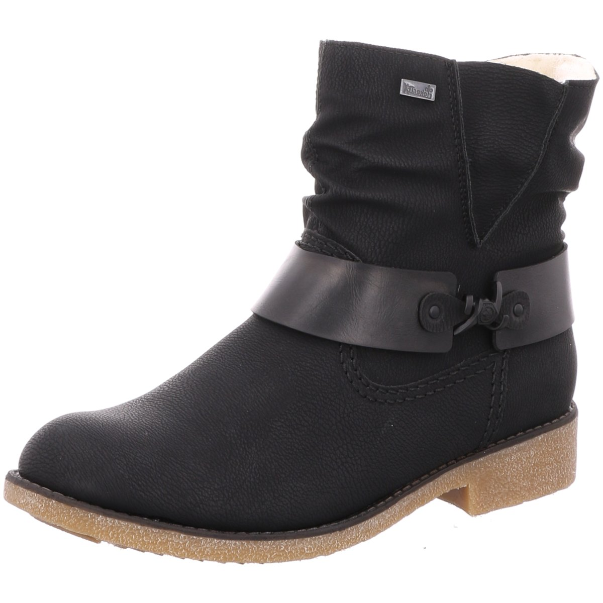 Rieker Schuhe Stiefelette 76736 01 schwarz schwarz NEU