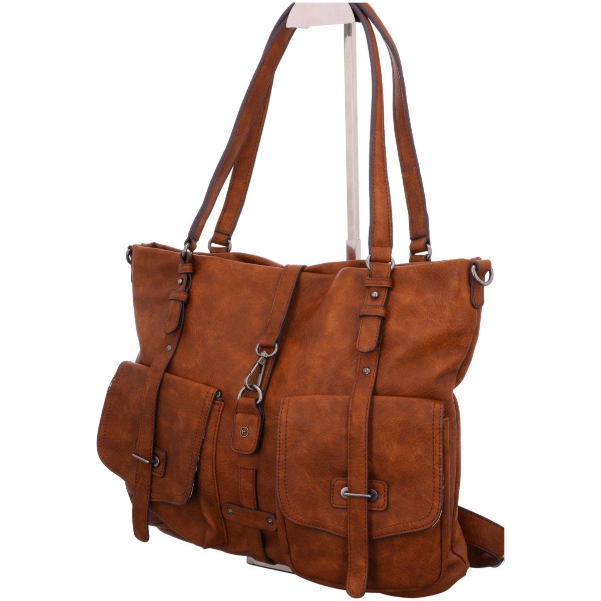 Details zu Tamaris Mode Accessoires BERNADETTE Shopping Bag 2610999 305 braun 541227