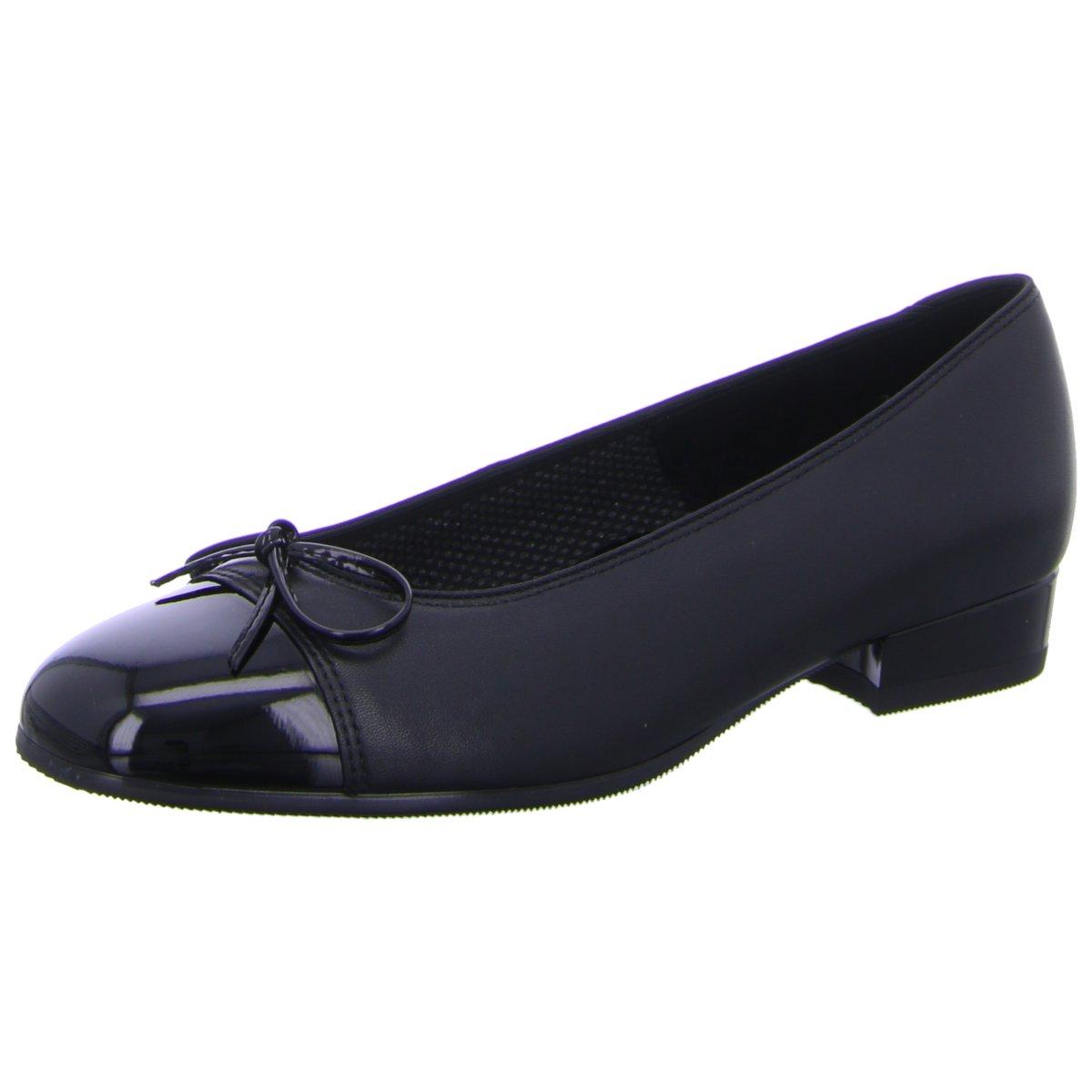 Ara Damen Ballerinas Weite F  2420 3 71 12-43708-01 schwarz 128888