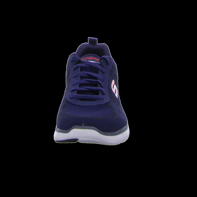 Details zu #S2K Skechers Herren Sneaker FLEX ADVANTAGE 2.0 GOLDEN POINT 52182 NVRD blau