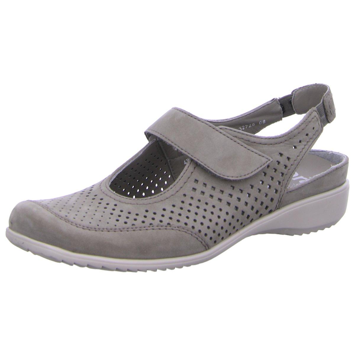 Ara Damen Sandaletten 12-32725-08 grau 218261