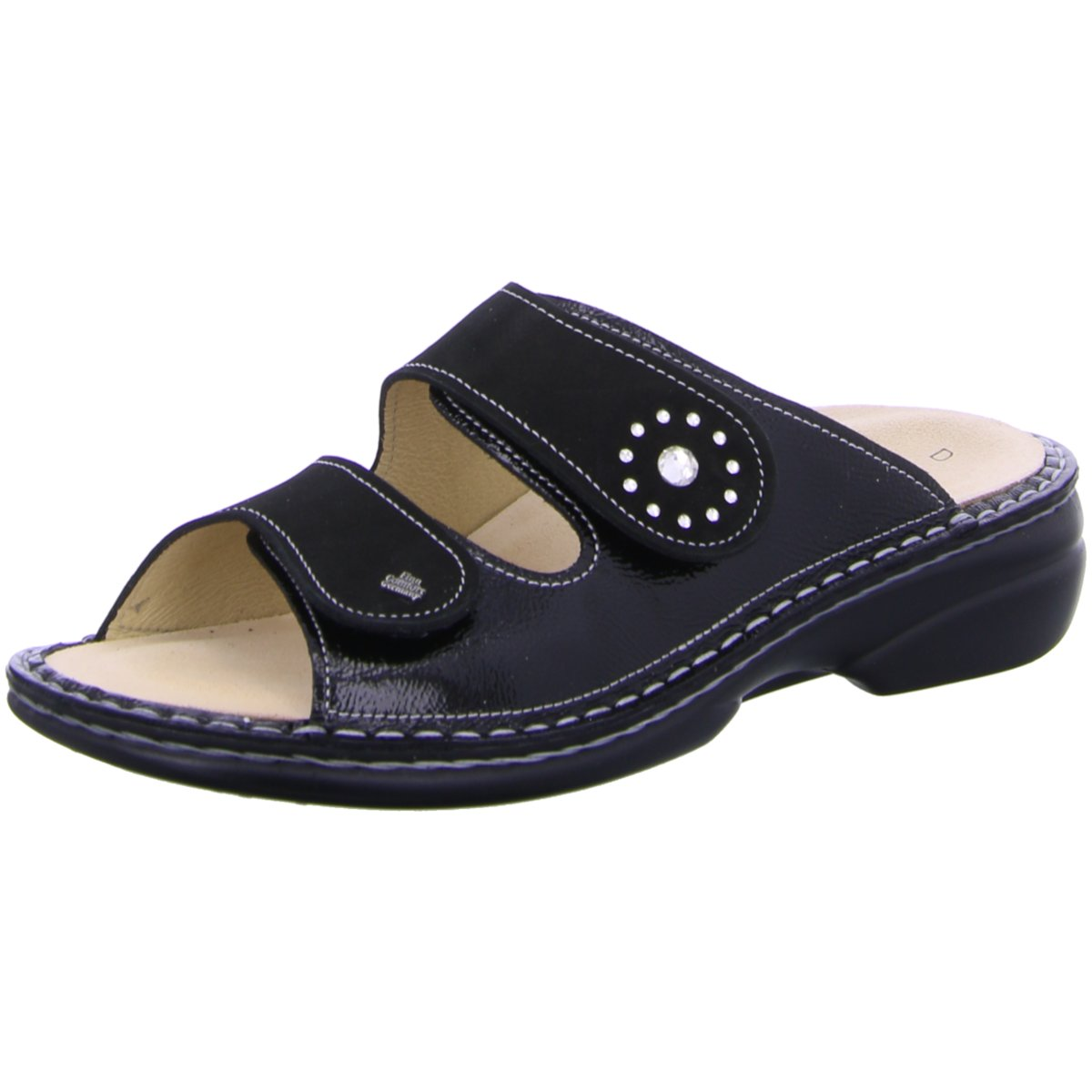 FinnComfort Damen Pantoletten BEVERLY-S 900618 schwarz 246284
