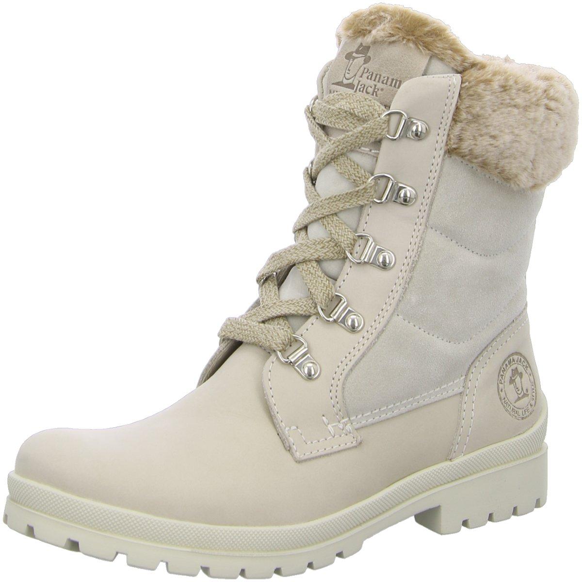 NEU Panama Jack Damen Stiefel TUSCANI B11 beige 333426