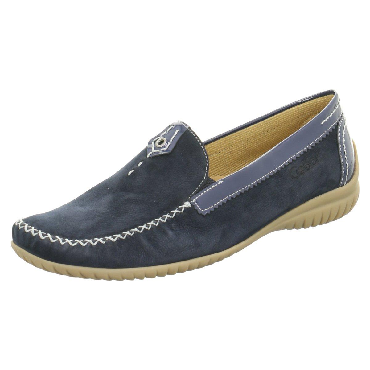 Gabor comfort Damen Slipper NV 86.090.26 blau 89149
