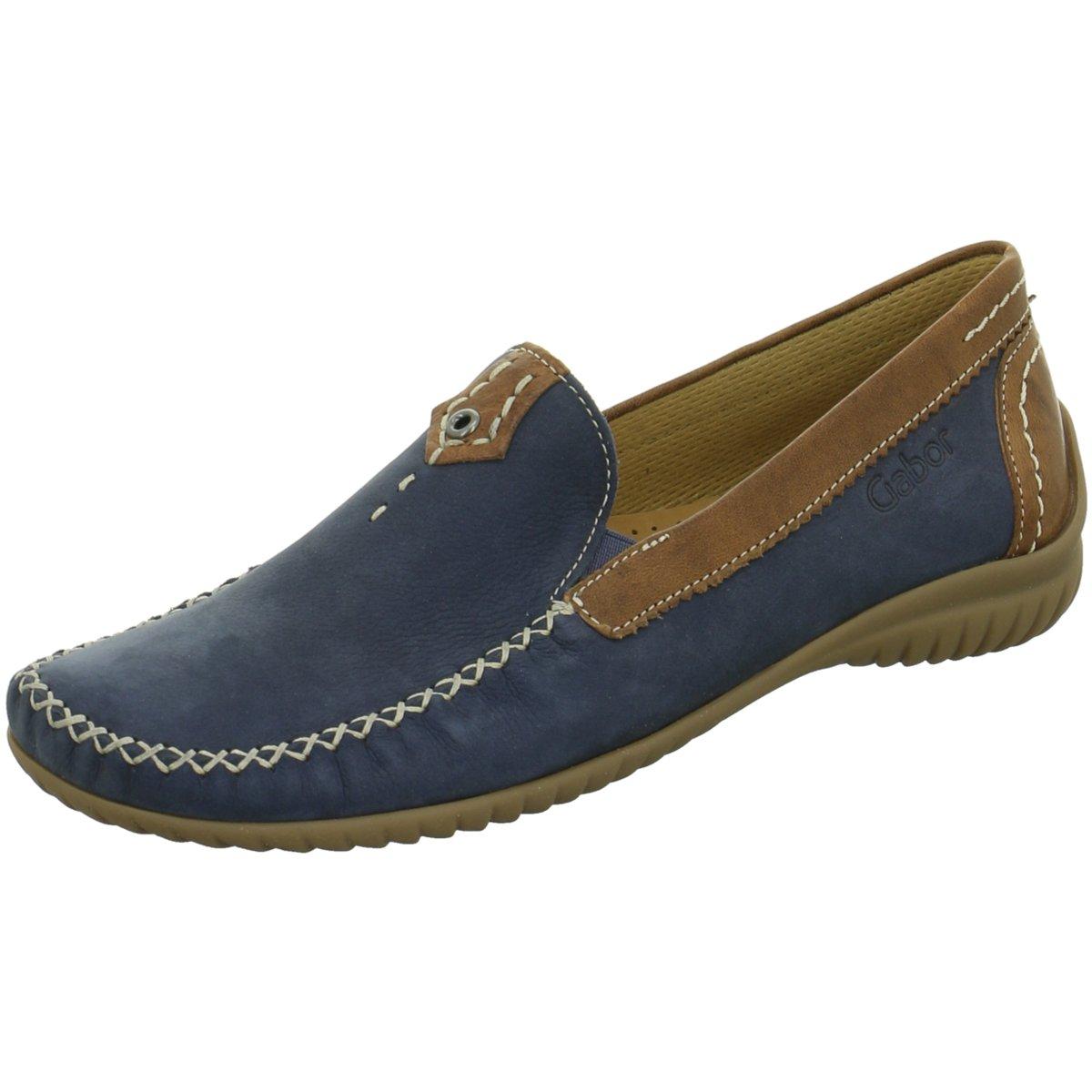 Gabor comfort Damen Slipper NV 86.090.46 blau 272029