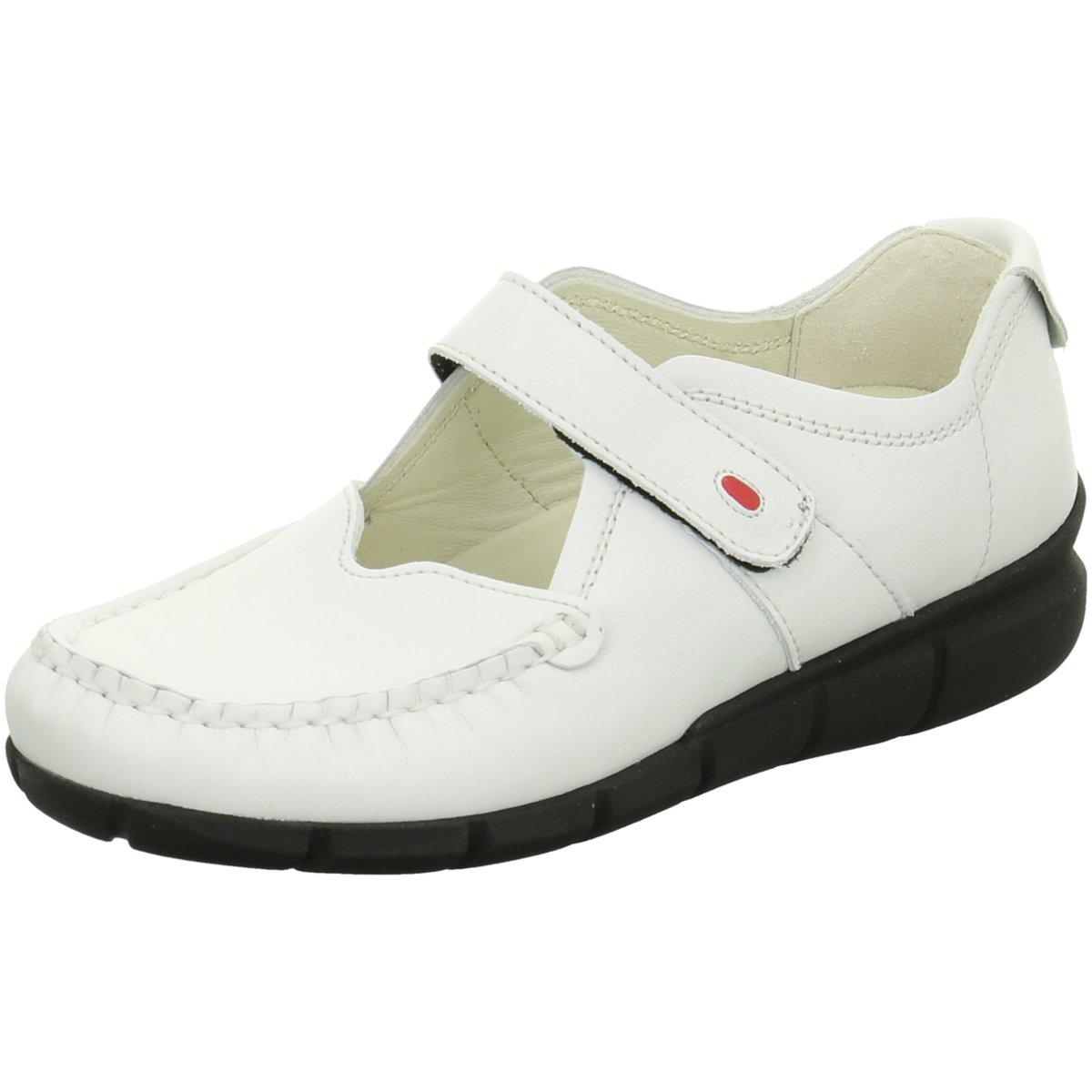 NEU Wolky Damen Slipper Yukon White Leoa leather 1500710 weiß 233709